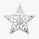 Stelle d'argento di Natale Immagini Stock Libere da Diritti