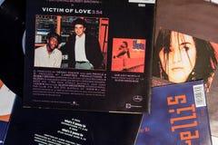 Stelle dai 90: s nell'industria musicale e nei film fotografia stock