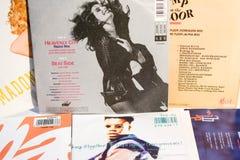 Stelle dai 90: s nell'industria musicale e nei film immagine stock