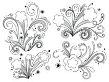 Stelle decorate illustrazione vettoriale