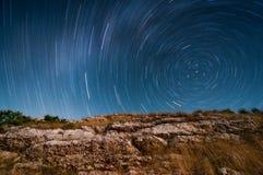Stelle del cielo notturno fotografia stock libera da diritti