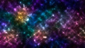 Stelle della nebulosa dello spazio del fondo Illustrazione di Stock