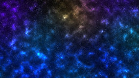 Stelle delle nebulose dello spazio dell'universo Immagine Stock