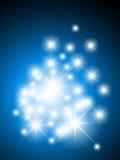 stelle di caduta dal cielo Fotografia Stock Libera da Diritti