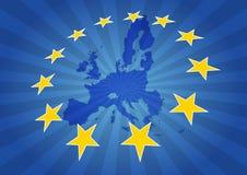 Stelle di Europa Immagini Stock