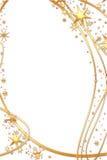 Stelle dorate Illustrazione Vettoriale