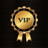 Stelle dorate di VIP Rosette With royalty illustrazione gratis