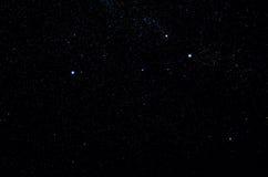 Stelle e fondo dell'universo di notte del cielo dello spazio cosmico della galassia immagini stock