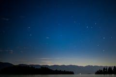 Stelle fuori nel Montana Fotografia Stock