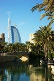 Stelle hotel, DUBAI, UAE dell'Arabo sette di Al di Burj Immagini Stock Libere da Diritti