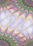 Stelle multicolori - progettazione del modello della pagina Fotografia Stock