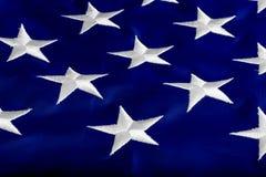 Stelle sugli Stati di bandiera Fotografia Stock Libera da Diritti