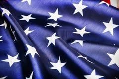 stelle sulla bandiera americana Fotografia Stock