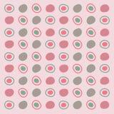 Stellen-Muster-Hintergrund stock abbildung