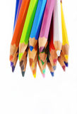 Stellen Sie Bleistifte ein Stockbild