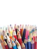 Stellen Sie Bleistiftfarbe ein Stockbild