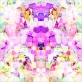 Stellen Sie ein Kaleidoskop dar raster Lizenzfreie Stockbilder