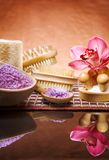 Stellen Sie für aromateraphy ein Lizenzfreies Stockfoto