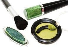 Stellen Sie für Make-up ein lizenzfreie stockbilder
