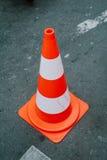 Stellen Sie Farbenkegel für Einschließungsstraße ein lizenzfreie stockfotos