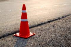 Stellen Sie Farbenkegel für Einschließungsstraße ein Lizenzfreies Stockfoto