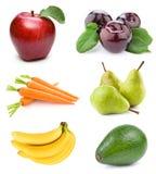 Stellen Sie Frucht ein Stockfotografie