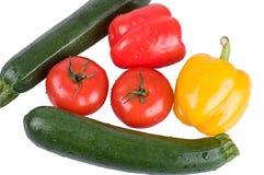 Stellen Sie Gemüse ein Stockfotos
