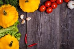 Stellen Sie Gemüse für Eintopfgericht ein Stockbilder