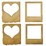 Stellen Sie grunge Plättchen-Papierauslegung ein Stockfoto