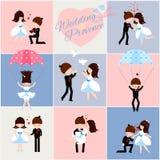 Stellen Sie Heiratsprovence ein Stockbilder