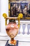 Stellen Sie im Alte das alte National Gallery-Museum auf Museumsinsel in Berlin Germany aus Stockfotos