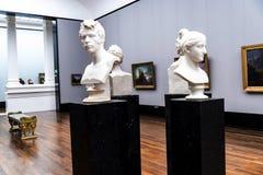 Stellen Sie im Alte das alte National Gallery-Museum auf Museumsinsel in Berlin Germany aus Lizenzfreies Stockbild
