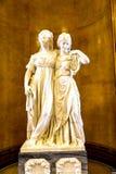 Stellen Sie im Alte das alte National Gallery-Museum auf Museumsinsel in Berlin Germany aus Stockbild