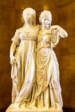 Stellen Sie im Alte das alte National Gallery-Museum auf Museumsinsel in Berlin Germany aus Stockfotografie