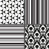 Stellen Sie nahtloses Muster der Geometrie ein. Vector Illustration ENV 8 stock abbildung