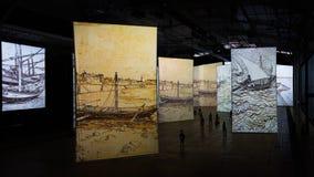 Stellen Sie sich Van Gogh vor lizenzfreie stockfotos