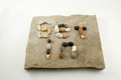 Stellen Sie in Stein ein Lizenzfreies Stockbild