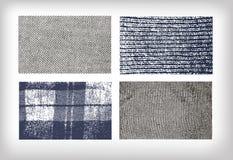 Stellen Sie vom Beschaffenheitsstoff-Jeanstweed ein stock abbildung