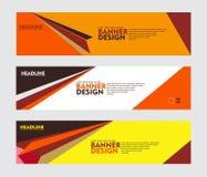 Stellen Sie vom Fahnenentwurf, für Netzfahne, Broschüre, fyler, Abdeckung und anderen Konzeptdruckentwurf ein vektor abbildung