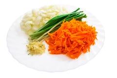 Stellen Sie vom Gemüse ein Lizenzfreie Stockfotos