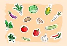 Stellen Sie vom Gemüse ein Stockbilder