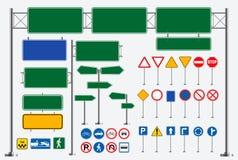 Stellen Sie vom Straßenschild ein r stock abbildung