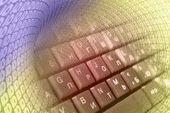 Stellen und Tastatur Lizenzfreies Stockbild