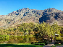 Stellenbosch, Afrique du Sud image stock