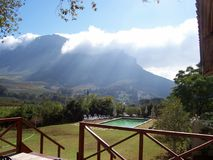 Stellenbosch  home Cape winelands  Royalty Free Stock Images