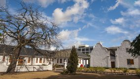 Stellenbosch Old Town. Stellenbosch is the second oldest town in South Africa and is 55 km from Cape Town. It is one of the oldest towns in South Africa and it royalty free stock photo