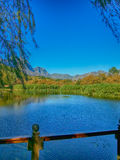 Stellenbosch, Südafrika Lizenzfreies Stockbild