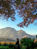 Stellenbosch, South Africa. View of the farm Hidden Valley, STELLENBOSCH SOUTH AFRICA royalty free stock photography
