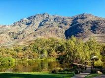 Stellenbosch, Suráfrica imagen de archivo