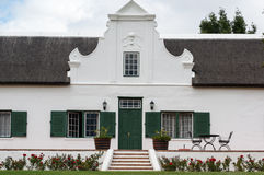The Stellenbosch wine lands region near Cape Town. Stock Image